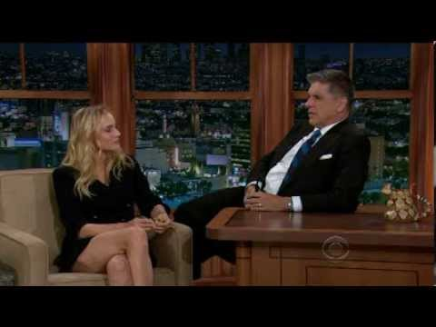 Diane Kruger - gorgeous and great legs - craig ferguson interview