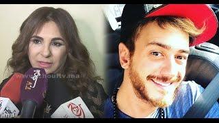 بالفيديو.. شوفو أشنو قالت الفنانة سعيدة فكري بعد خروج سعد لمجرد من سجن فلوري |