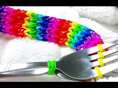 Rainbow Loom - Pulseira de Elásticos - PULSEIRAS DE GOMITAS-Loom Bracelet