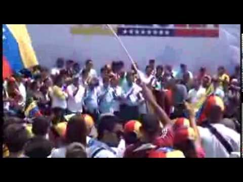 Concentración por la paz y el desarme, en San Diego, Estado Carabobo, Venezuela