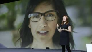 Amazing Google Glasses Demonstration at Google I/O 2012