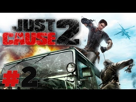 Let's Play Just Cause 2 #02 [Deutsch/Full-HD] - Dumm wie Brot