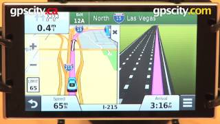 Garmin Nuvi 3597LMTHD: Junction View And Active Lane