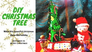 DIY Christmas Tree, Christmas Decoration Idea,Very Easy and Beautiful Christmas Tree, DIY Project