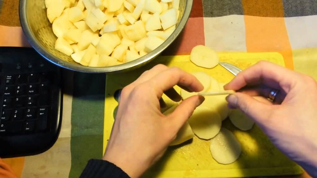 Картофель сушеный в домашних условиях 123