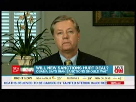 Graham Disapproves of US-Iran Nuclear Deal, Supports New Sanctions