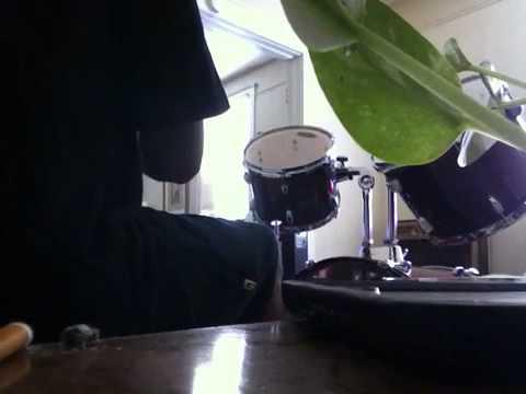 Hình ảnh trong video Rihanna your skin, on the drum set