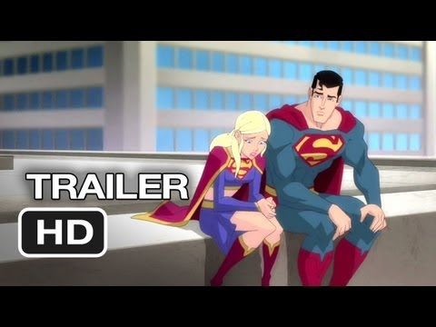 Superman: Unbound Official Trailer #1 (2013) - Animated Superman Movie HD,