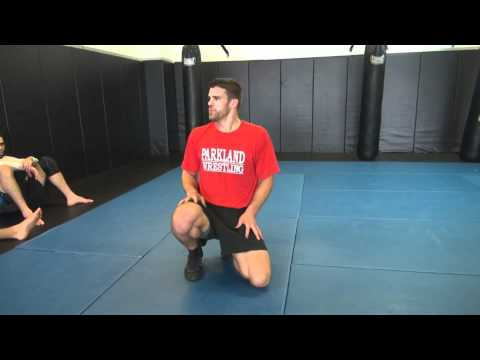 Double Leg Takedown - When to Circle and Drive - Clinch Domination