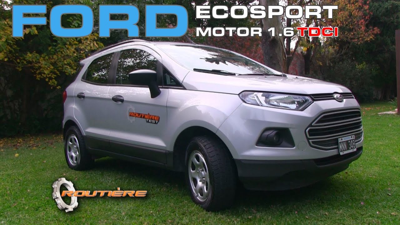 ford ecosport tdci turbo diesel test routi re test pgm 270 youtube. Black Bedroom Furniture Sets. Home Design Ideas