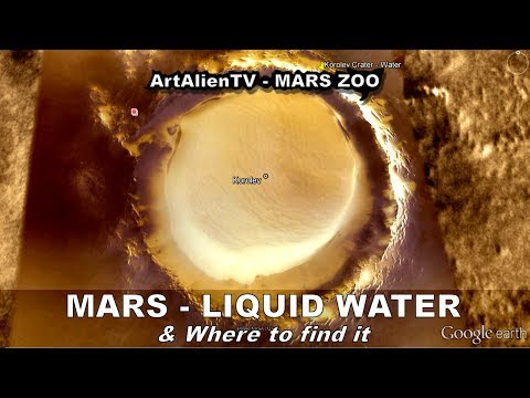 LIQUID WATER ON MARS & Where To Find It. The Beach. ArtAlienTV - MARS ZOO 1080p