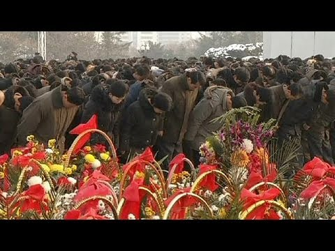 North Korea marks Kim Jong-il death anniversary - no comment