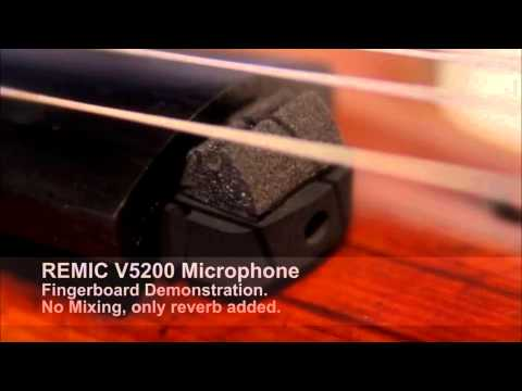 REMIC MICROPHONES V5200 | REVIEW BY ALISON SPARROW