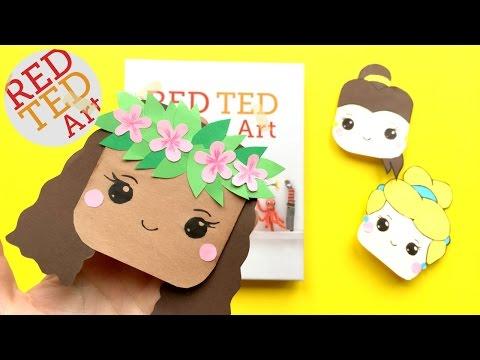 Moana Bookmark DIY - Disney Princesses Corner Bookmarks DIYs