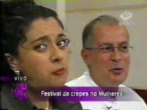 Catia Fonseca ficando vesga