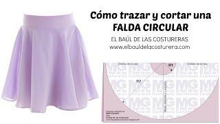 Trazado De La Falda Circunferencia Completa, Acampanada O