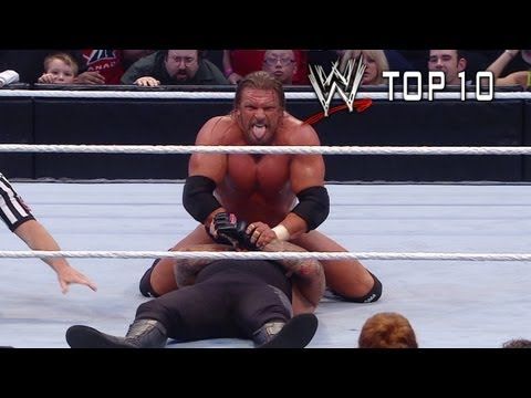 WWE Top 10: (Almost) Streak Stoppers, As CM Punk attempts to end the streak, WWE Top Ten looks back at the moments where the streak almost ended!