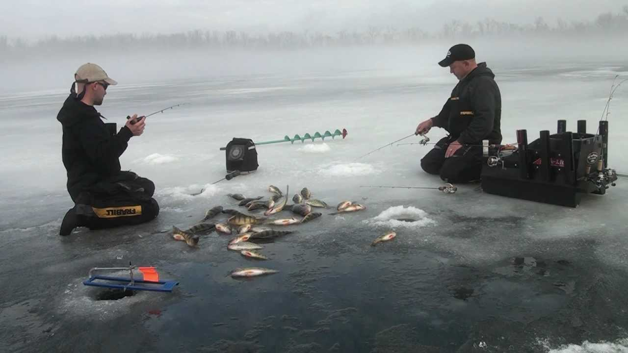 ice fishing crappie and perch slam youtube