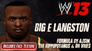 WWE '13 Big E Langston CAW Formula By AJSim, The