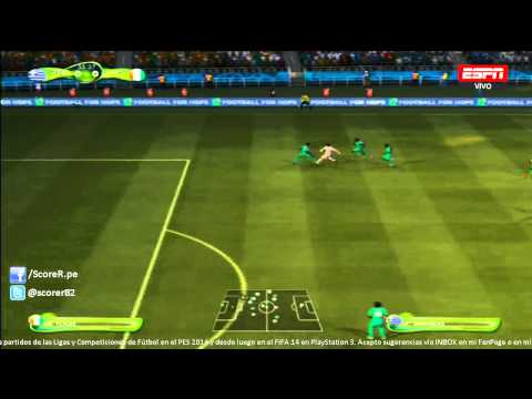EA SPORTS 2014 FIFA WORLD CUP - Greece vs Ivory Coast - Group C @ Simulacion PS3