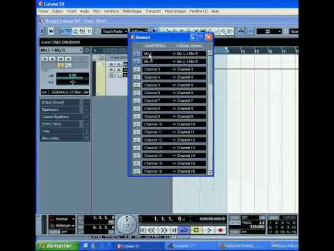 Cubase-Reason-Rewire 1/2 TUTORIEL-TUTORIAL