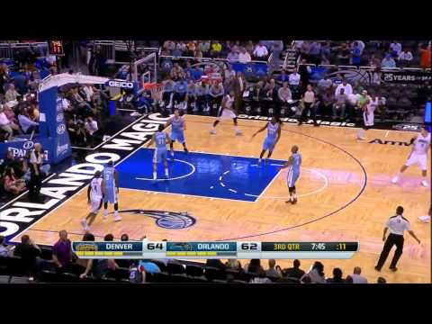 Arron Afflalo vs Denver Nuggets 2014.03.12