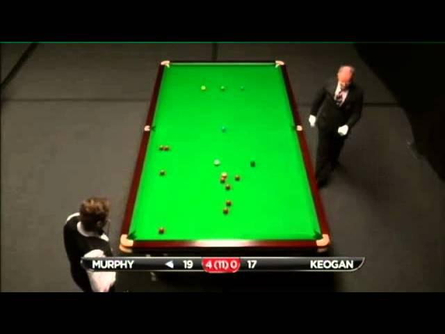 Shaun Murphy - Christopher Keogan (Frame 5) Snooker International Championship Q 2013 - Round 1