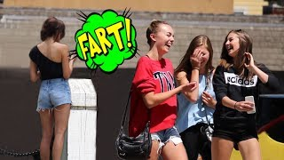 WET FARTS PRANK with The Sharter!