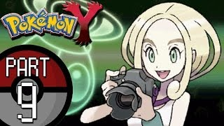 Pokemon X And Y Part 9: Santalune City Gym Leader