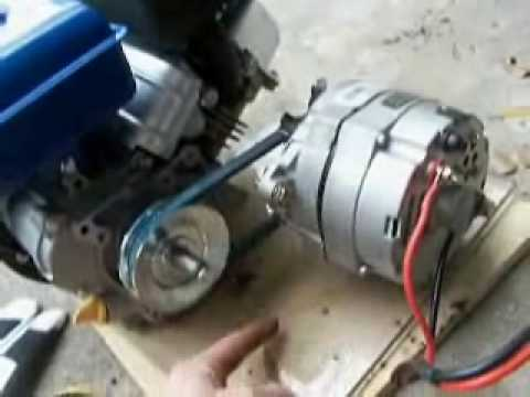 How To Build An Engine Alternator Generator 2 2 Putting It