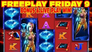Diamond Hunt FREEPLAY FRIDAY 9 Slot Machine LIVE PLAY
