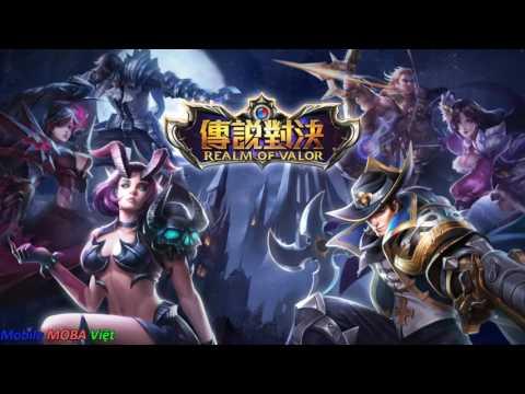 Hướng dẫn chi tiết tải và cài đặt chơi Liên quân mobile Đài Loan - Realm of Valor