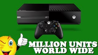 XBOX ONE NEWS: XBOX ONE SOLD OVER 1 MILLION UNITS IN 24 HOURS! (BREAKING RECORDS FOR MICROSOFT)