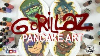 Gorillaz Pancake Art