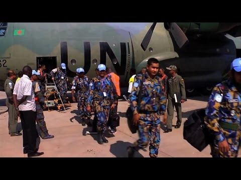 UN reinforcements arrive in South Sudan