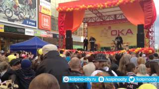 """Группа """"Русский размер"""" на дне рождения ТРК «ОКА»"""
