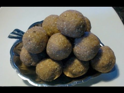 Sesame Peanut Laddu with natural allergy treatment info