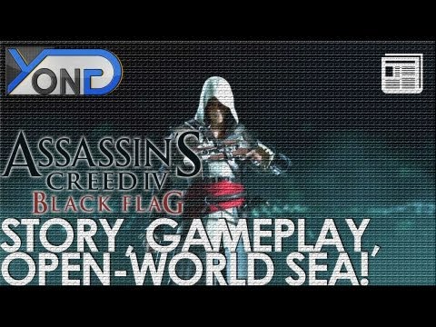 Assassin's Creed 4: Black Flag - Story, Open-World Sea, Gameplay Info, Harpooning, and MUCH MORE!, Assassin's Creed 4: Black Flag - Story, Open-World Sea, Gameplay, Harpooning, and MUCH MORE! JOIN THE NASIAN - http://www.youtube.com/yongyea - http://www.yo...