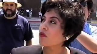 Jesse Lee Peterson At PROP 187 Rally. Los Angeles 1996