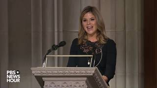WATCH: Jenna Bush Hager delivers second reading at George H.W. Bush funeral