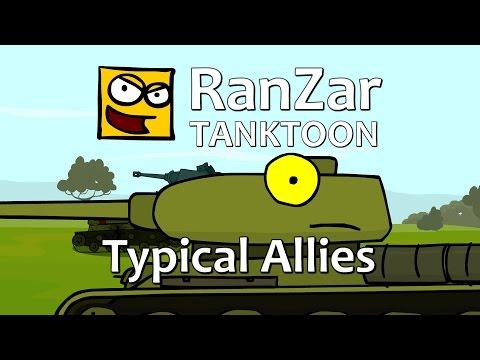 Tanktoon - Typick� spojenci