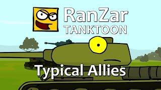 Tanktoon - Typickí spojenci