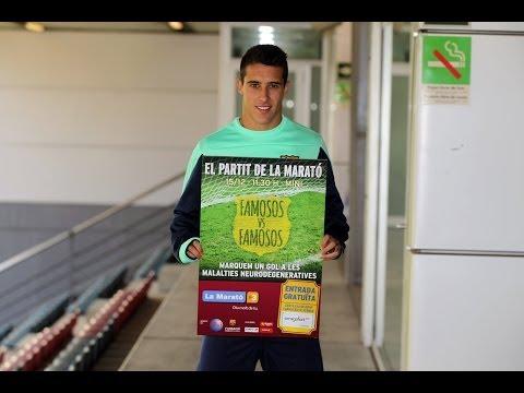 FC Barcelona - Espot de suport al partit de famosos de La Marató de TV3