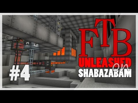 FTB Unleashed - Ep. 4 - Need Power Going Lava For Now