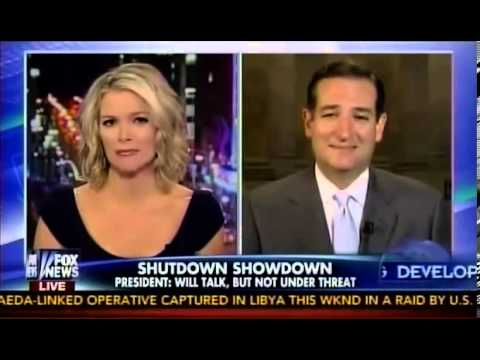 Megyn Kelly Interviews Ted Cruz on Her New Show, The Kelly File, First Interview - 10/7/13