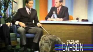 Johnny Carson: Jim Fowler's Coyote Answers Nature's Call, 1969