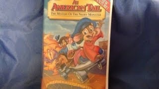 Opening To An American Tail:The Mystery Of The Night