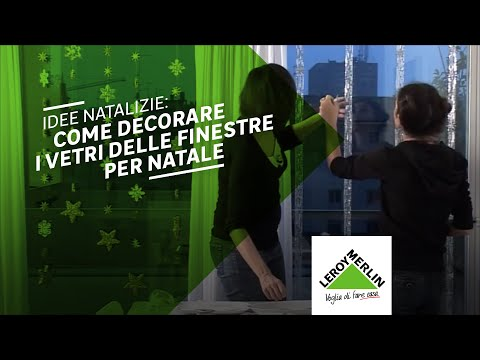 La finestra per natale leroy merlin youtube for Finestra leroy