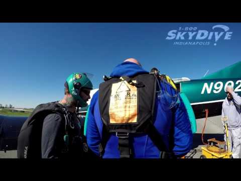 Shawn Downing's Tandem skydive!
