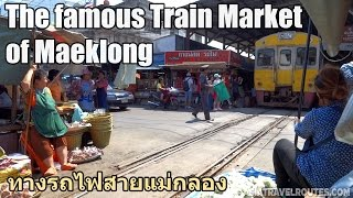 Videos of Maeklong Railway Market